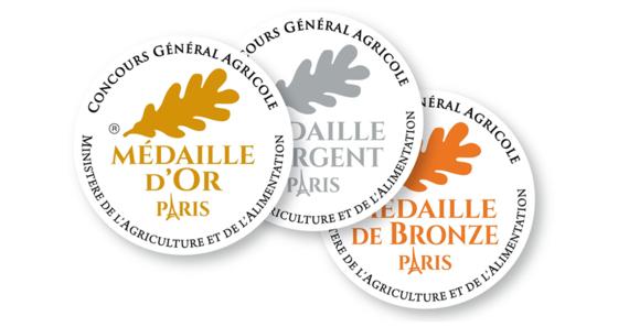 Médailles Concours Général Agricole Bienvenue à la ferme Pays-de-la-Loie