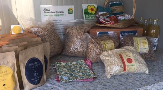 ouverture des ventes à la ferme et distribution de produits fermiers