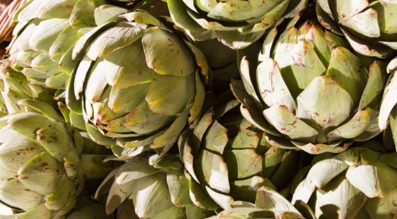 Artichaut produit légume de saison