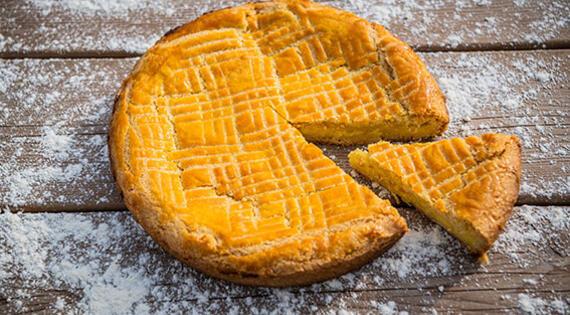 Le gâteau basque de la Ferme Auzkia