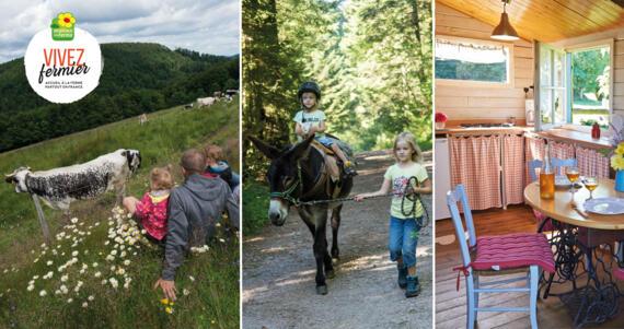 Vivez fermier : accueil, séjour et restauration