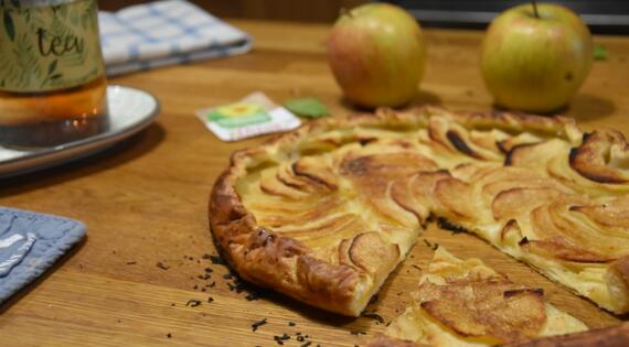 tarte rustique au pommes