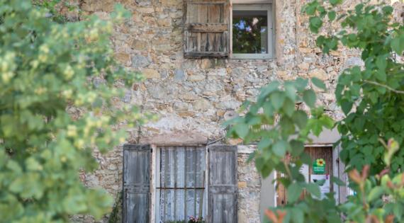 Domaine de l'Estagnol - bâti - Crédit photo Hervé Fabre pour BAF