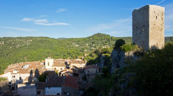 Villages Perchés, Chateaudouble, Crédit Photo Camille Moirenc Dracénie Provence Verdon Tourisme