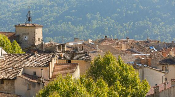 VAR Village perché Bargemon, Crédit Photo Camille Moirenc Dracénie Provence Verdon Tourisme