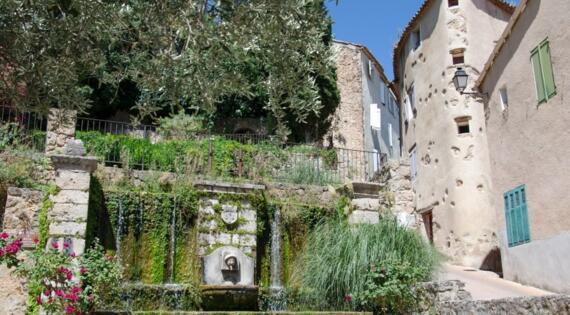 Fontaine Barjols Crédit Photo F.Galilé Provence Verte Verdon