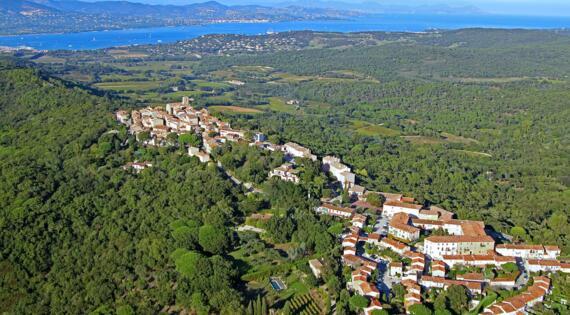 Gassin Golfe de Saint Tropez Tourisme ©e.bertrand tdr