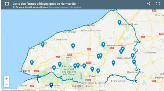 fermes pédagogiques de Seine-Maritime