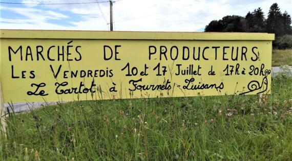 Marché de producteurs fermier Haut Doubs