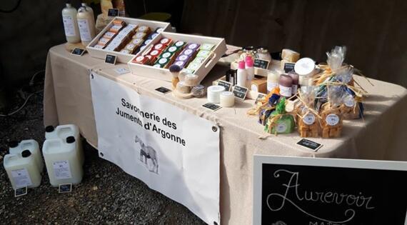 Vente sur marché Les Juments d'Argonne