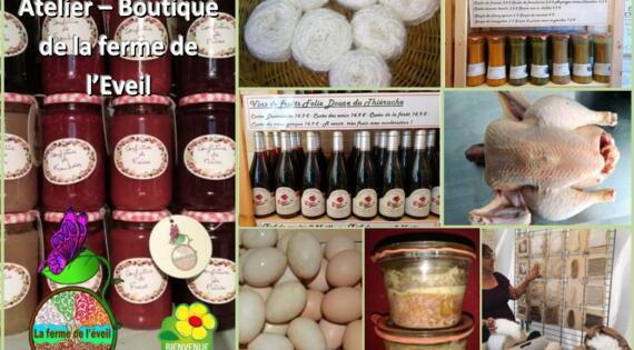 produits ferme de l'eveil