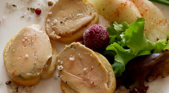 Assiette foie gras