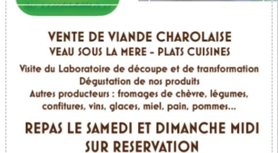 Programme Ferme Gourmande GAEC des Grands Genets