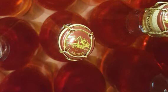 Cuvée rosée Champagne JACOPE