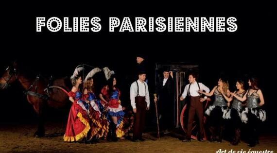 Spectacle équestre Folies Parisiennes