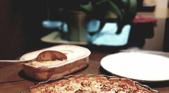 Tarte aux noix Cueillette de Muizon