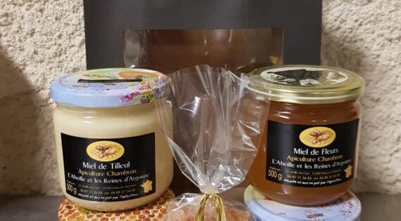 Composition miels et bonbons l'Abeille et les Reines d'Argonne