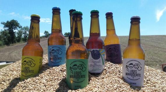 Bières fermières de Louis et Marguerite  - Paysans brasseurs - Bienvenue à la ferme
