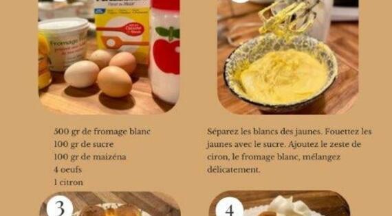 Gateau de fromage blanc