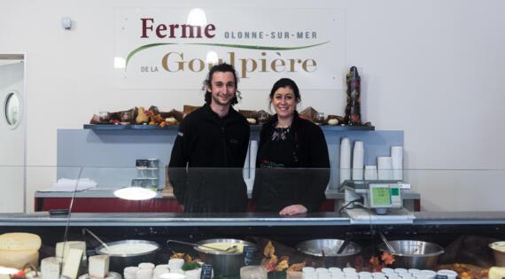 Ferme Bio la Goulpière fromagerie