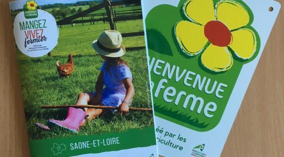 Guides Bienvenue à la ferme Saône-et-Loire 2021