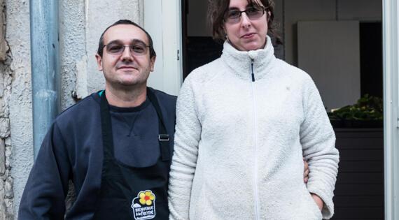Ferme des Moënes : Mélanie et Guillaume