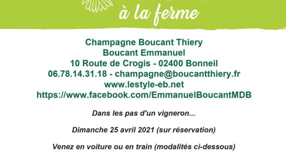 Champagne Boucant avril
