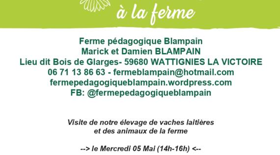 Visite de la ferme Blampain