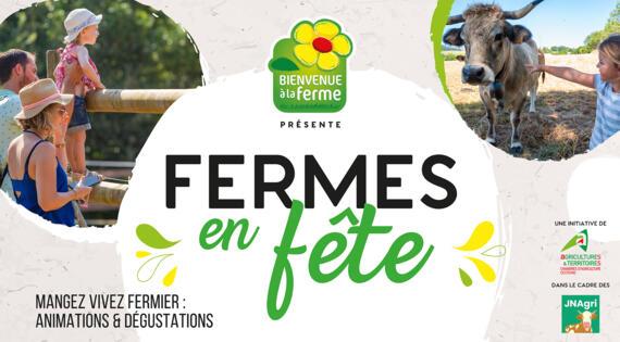 Du 18 juin au 18 juillet 2021 venez découvrir les « Fermes en Fête » d'Occitanie