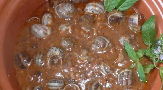 Recette d'escargots à la cévenole de La Caracole