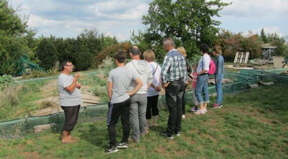 Visite de la ferme Escargots des Restanques