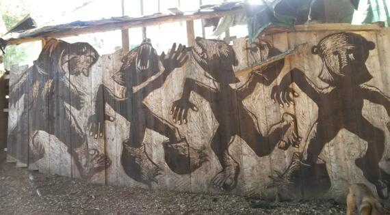 sentier de l'ours