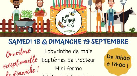 Panier Vert 18-19/09/2021