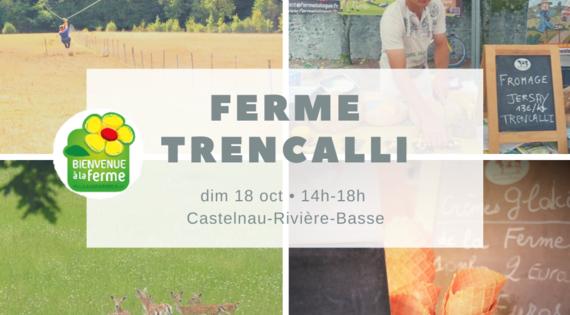 Ferme Trencalli à Castelnau-Rivière-Basse
